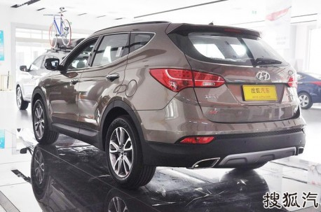 New Hyundai Sante Fe launched on the Chinese car market