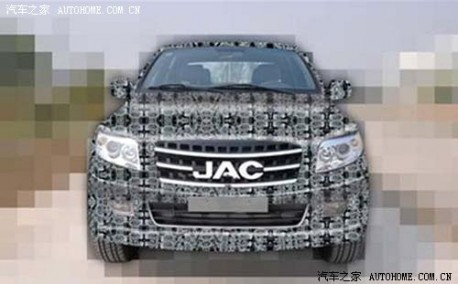 JAC is changing its Ford F-150 to something more Chinese