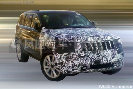 Spy Shots: facelifted Jeep Grand Cherokee testing in China