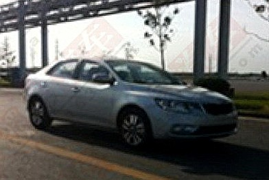 Spy Shots: facelift for the Kia Forte in China