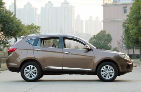 Landwind X5 will hit the Chinese auto market on January 4