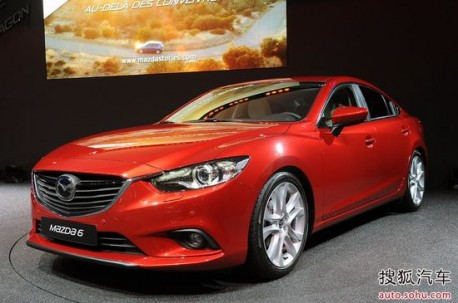 New Mazda 6 will be made in China from late 2013