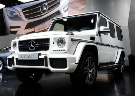 Mercedes-Benz G63 AMG & G65 AMG hit the China car market