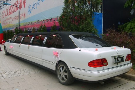 Mercedes-Benz W210 E-Class is Super Stretched in China