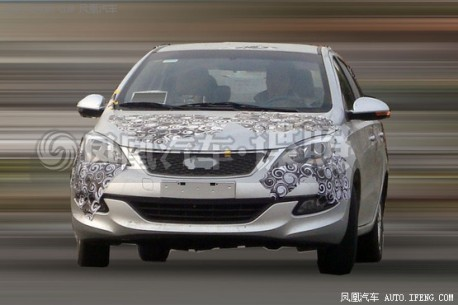 Spy Shots: new Chery Cowin 2 is losing Camouflage in China