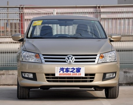 New Volkswagen Santana launched on the Chinese car market