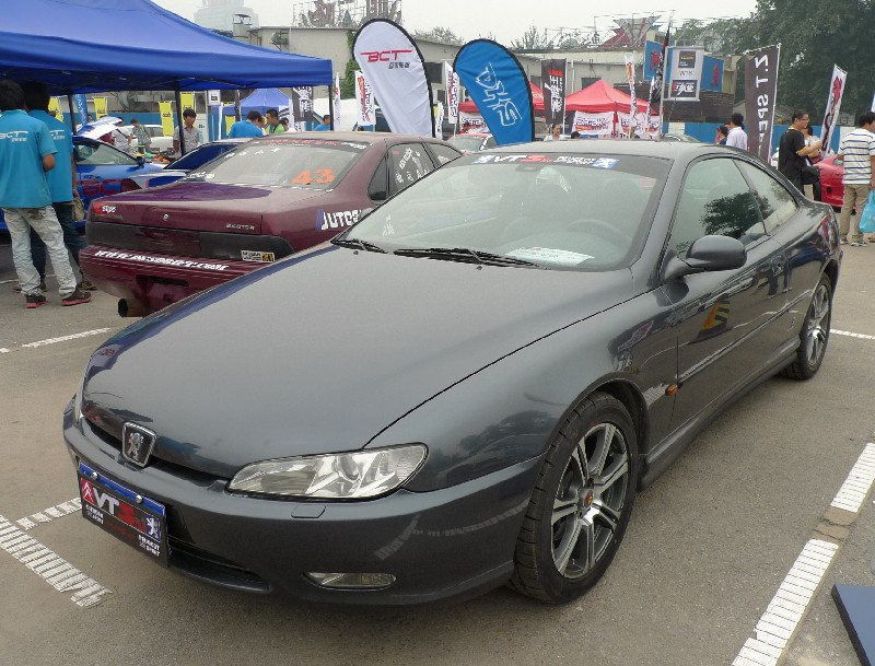 spotted in china peugeot 406 coupe. Black Bedroom Furniture Sets. Home Design Ideas