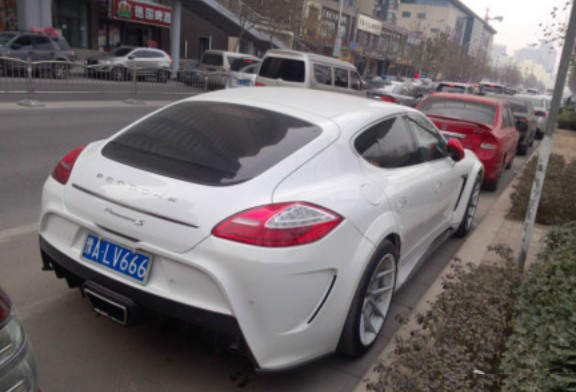 Spotted In China Mansory Porsche Panamera