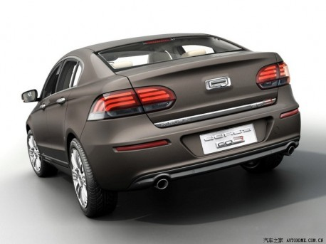 Qoros GQ3 sedan is Out in China