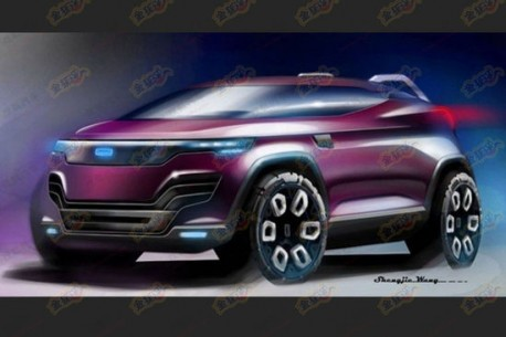 Qoros SUV leaks out in China