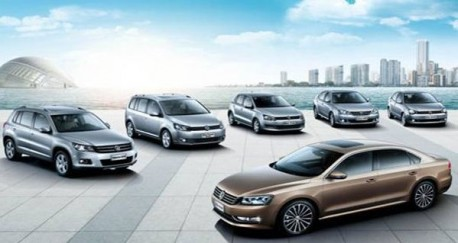 Shanghai-Volkswagen working on three new cars for the Chinese market