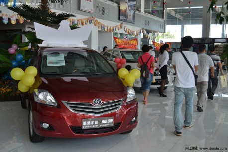 Output of Japanese cars in China Down again in November