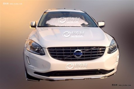 Spy Shots: facelifted Volvo XC60 pops up in China