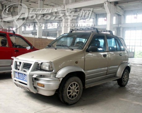 China Car History: the Yemingzhu CTJ-3  'off-road jeep'