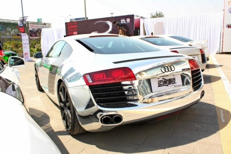 Audi R8 is Bling in China