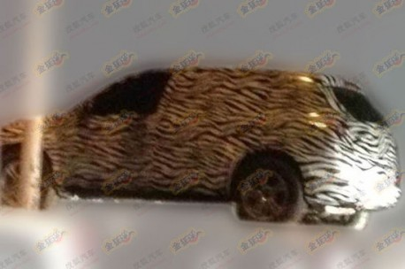 Spy Shots: Beijing Auto C51X SUV testing in China