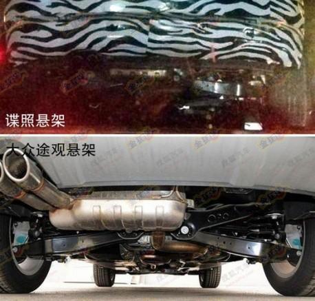 Spy Shots: Beijing Auto C51X SUV testing in China