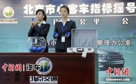 Beijing will maintain car quota and license plate lottery for 2013