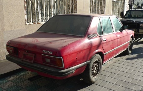 Spotted in China: E12 BMW 528