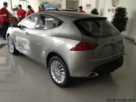 Brilliance It's Me concept car finally pops up in China