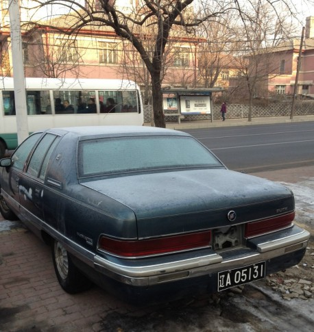 Spotted in China: Buick Roadmaster Limited