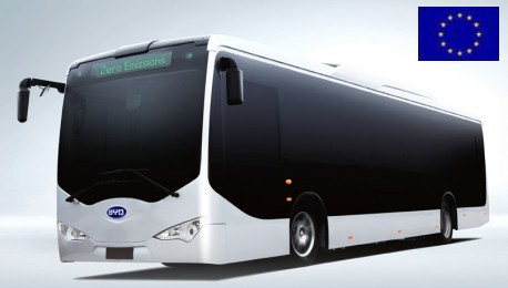 China's BYD gets EU license to sell electric buses