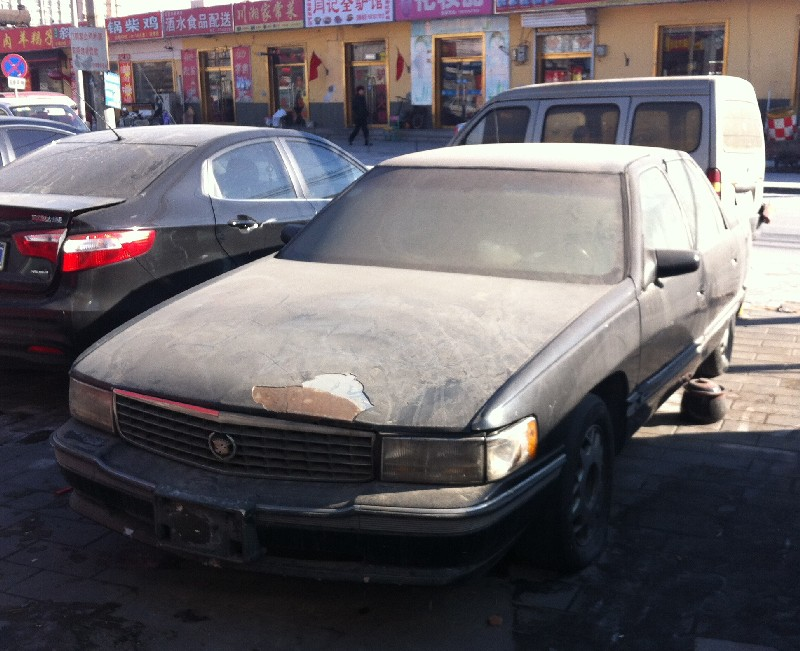 Spotted in China: seventh generation Cadillac de Ville