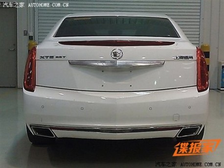 China-made Cadillac XTS will be launched on February 25