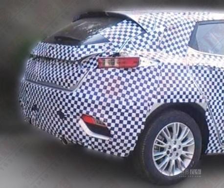 Spy Shots: Chang'an Eado XT seen testing in China