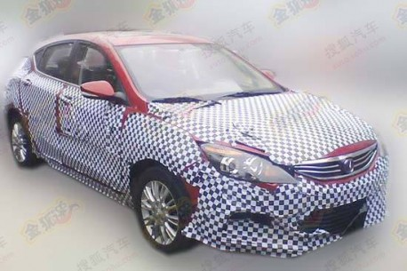 Spy Shots: Chang'an Eado XT loses some Camo in China