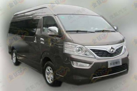 Spy Shots: Chang'an Zunhang goes for the Toyota Hiace