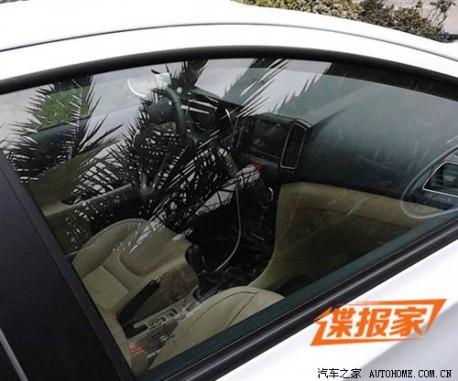 Spy Shots: Chery E3 testing in China