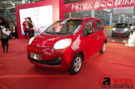 More pictures from the new Chery QQ from China