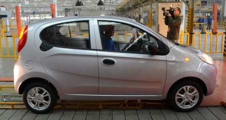 Production of the new Chery QQ has started in China
