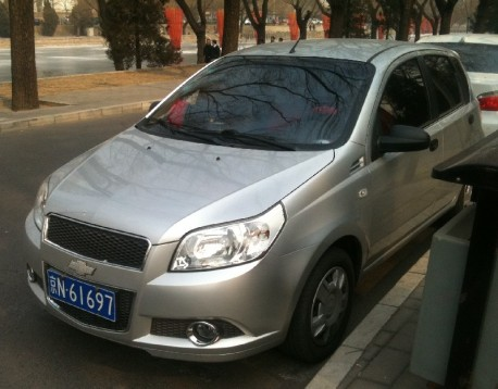 Chevrolet Aveo is a Bit Bling in China