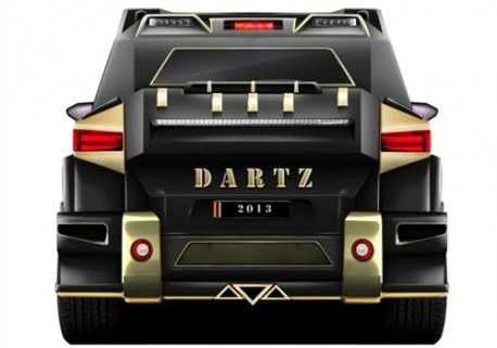 Dartz Black Snake is a $1 million special for China