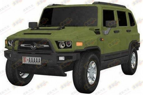 Patent Applied: Dongfeng HUV to see production for the army