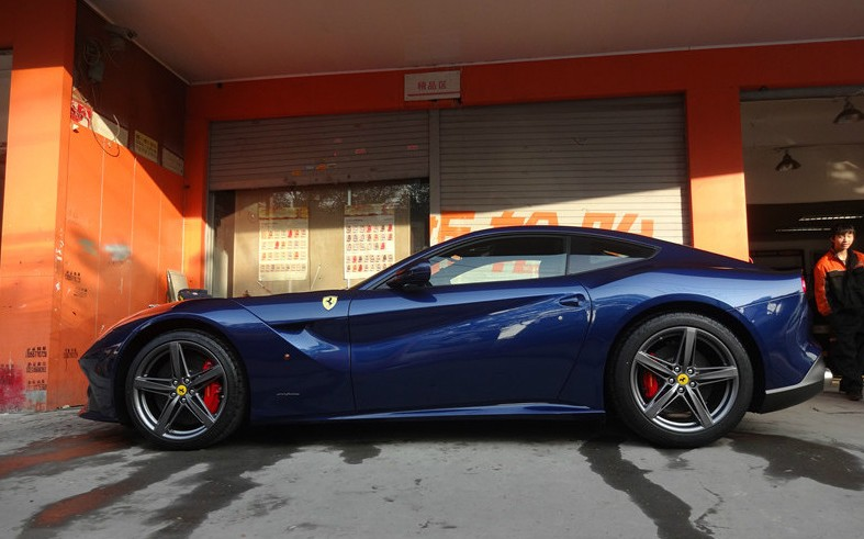 Ferrari F12berlinetta Is Blue In China Carnewschina