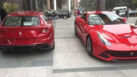Ferrari F12berlinetta & Ferrari FF meet in Guangzhou, China