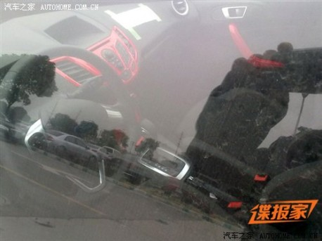 Spy Shots: facelifted Ford Fiesta hatchback Naked in China