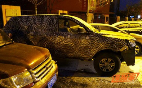 Spy Shots: new Foton SUV feels Cold at Night