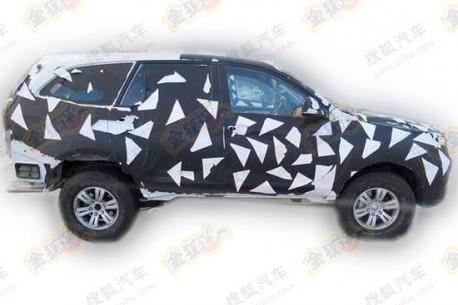 Spy Shots: Foton U201 SUV seen testing in China