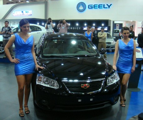 Geely exports up 164% over 2012