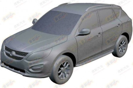 Patent Applied: Gonow working on new SUV in China