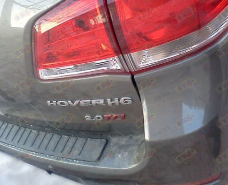 Spy Shots: Great Wall Haval H6 goes super chrome in China