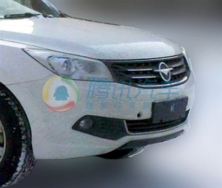 Spy Shots: facelifted Haima 7 SUV testing in China