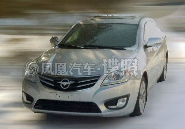 Spy Shots: Haima M8 testing in the Snow in China