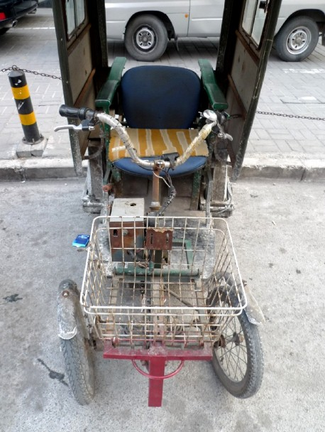 Strange half-homemade electric vehicle from China