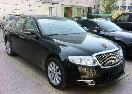 Spotted in China: first Hongqi H7 in the Wild