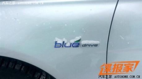 Spy Shots: Hyundai Sonata Blue Drive hybrid testing in China